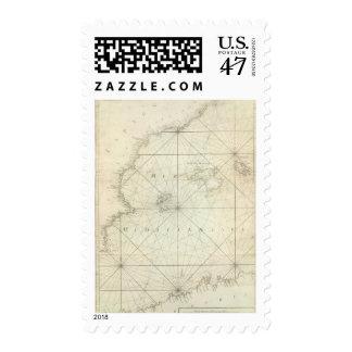 Mediterranean Sea 5 Stamp