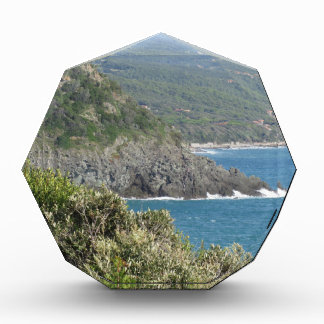 Mediterranean sea along Tuscan coastline Award