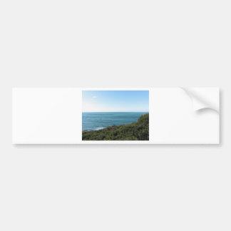 Mediterranean sea along Tuscan coastline Bumper Sticker