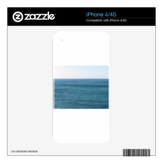 Mediterranean sea along Tuscan coastline Decals For The iPhone 4S
