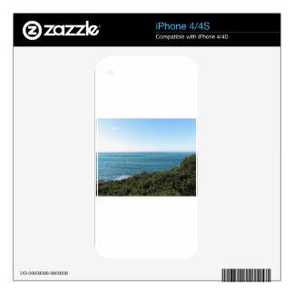 Mediterranean sea along Tuscan coastline iPhone 4 Skins