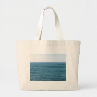 Mediterranean sea along Tuscan coastline Large Tote Bag
