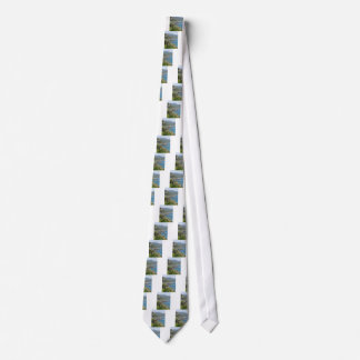 Mediterranean sea along Tuscan coastline Neck Tie