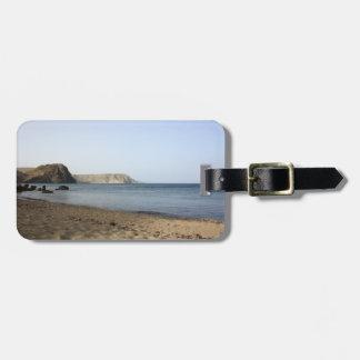 Mediterranean Sea and beach the Blacks, photograph Bag Tag