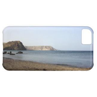 Mediterranean Sea and beach the Blacks, photograph iPhone 5C Case