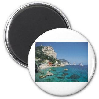 Mediterranean Sea Coast Beach of Italy Magnet