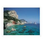 Mediterranean Sea Coast Beach of Italy Postcards