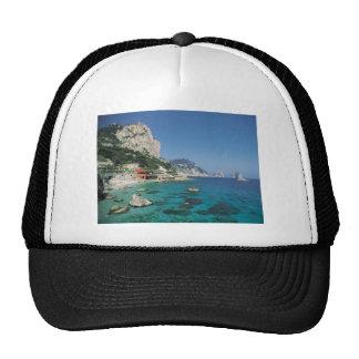 Mediterranean Sea Coast Beach of Italy Trucker Hat