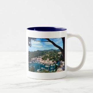 Mediterranean Sea Coast Italy Photograph Mug