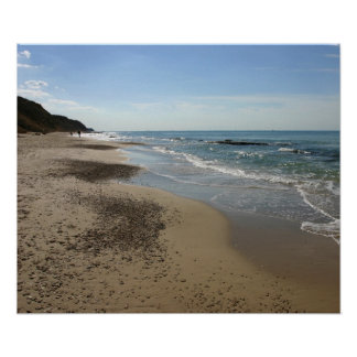 Mediterranean Sea, Netanya, Israel Canvas print