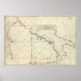 Mediterranean Sea Print