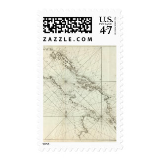 Mediterranean Sea Stamp