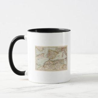 Mediterranean Sea W Mug