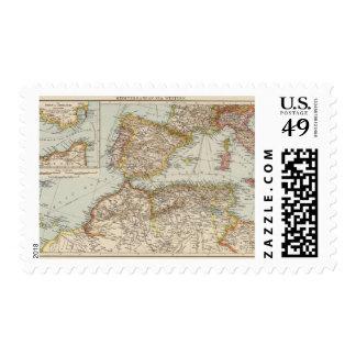 Mediterranean Sea W Postage Stamp