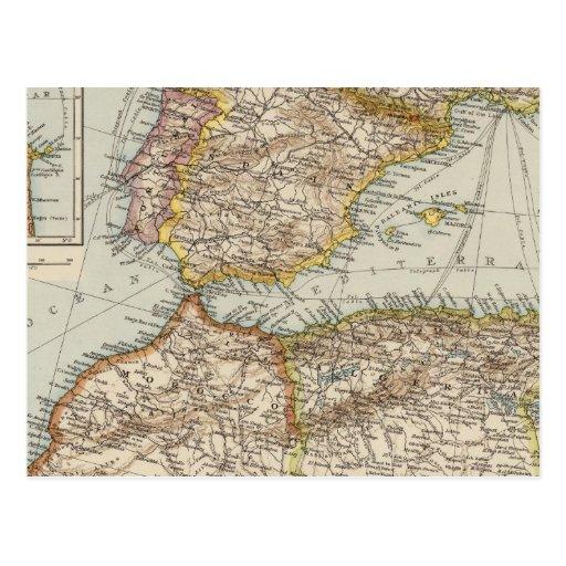 Mediterranean Sea W Postcard