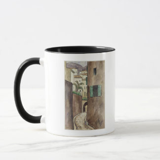 Mediterranean Street and Houses Mug