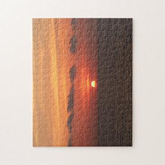 Mediterranean Sunset Jigsaw Puzzle