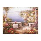 Mediterranean Villa Canvas Print