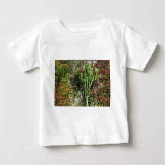 Mediterranean wall decoration with cactus baby T-Shirt