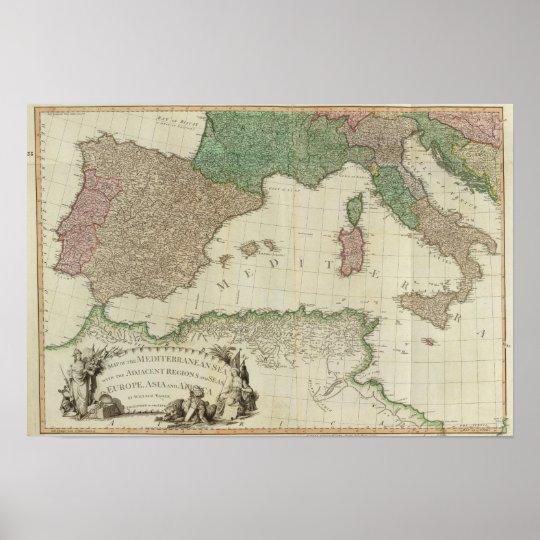 Mediterranean West Poster