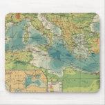Mediterráneo, cables del Mar Negro, estaciones ina Alfombrilla De Raton