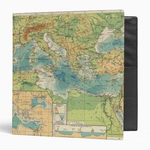"""Mediterráneo, cables del Mar Negro, estaciones ina Carpeta 1 1/2"""""""