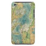 Mediterráneo, cables del Mar Negro, estaciones ina iPod Touch Fundas