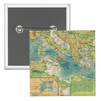 Mediterráneo, cables del Mar Negro, estaciones ina Pin Cuadrado
