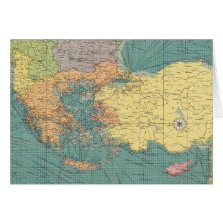 Mediterráneo del este felicitacion