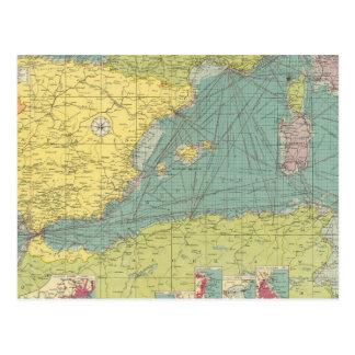 Mediterráneo occidental postal