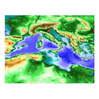 Mediterráneo Tarjetas Postales