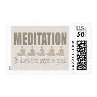 MEDITIATION POSTAGE