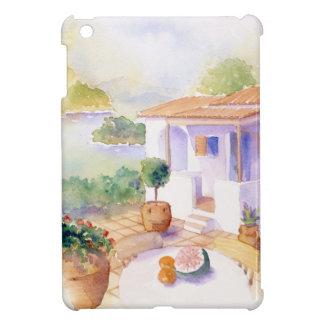 Meditteranean villa case for the ipad