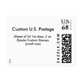 "Medium, 2.1"" x 1.3"", $0.71 (1st Class 2 oz) Stamp"