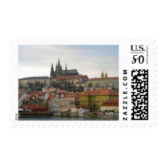 "Medium, 2.1"" x 1.3"", 1st Class Letter Stamp Prague"