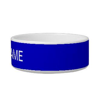 Medium Blue High End Full Color Bowl