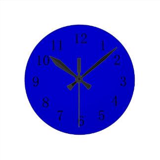Medium Blue Kitchen Wall Clock