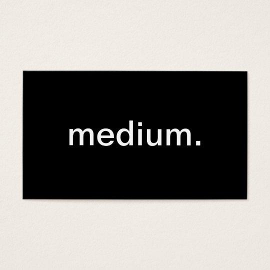 Medium Business Card