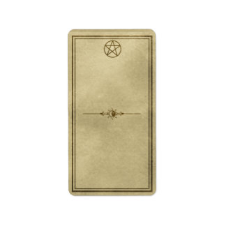 Medium Celestial Pentacle Apothecary Label