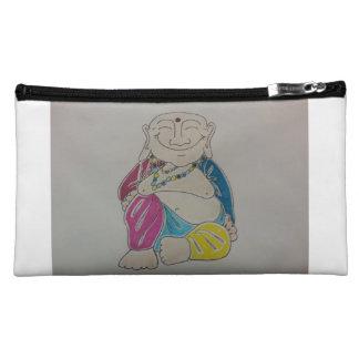 Medium Cosmetic Buddha Bag. Makeup Bag