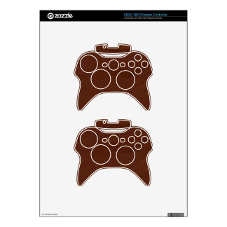 MEDIUM DARK DIGITAL WOOD MANDELBULB 3D FRACTAL IMG XBOX 360 CONTROLLER SKINS