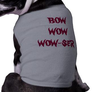 Medium Dog, Tank Shirt, Gray and Personalized Shirt