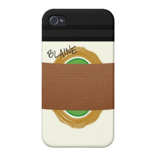 Medium Drip iPhone 4 Case