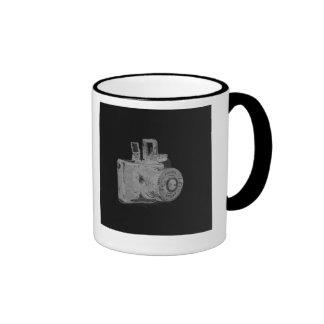 Medium format camera Art Fashion Ringer Coffee Mug