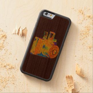 Medium format camera Art Fashion Carved® Cherry iPhone 6 Bumper