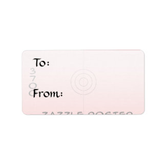 Medium - Gift Tag Label