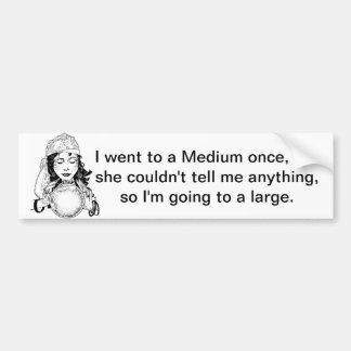 Medium/Large Fortune Teller Bumper Sticker Car Bumper Sticker