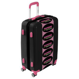 Medium Luggage Suitcase MAINE STUCK IN THE 80's