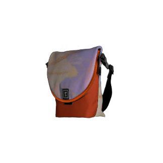 Medium Messenger Bag Consciousness Design Mandarin