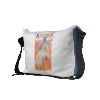 Medium Messenger Bag Inside Print